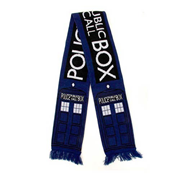 Doctor Who TARDIS Blue Scarf