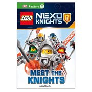 LEGO Nexo Knights: Meet the Knights DK Readers 2 Hardcover Book