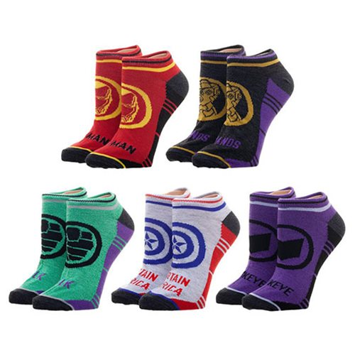 Avengers: Endgame Woman Ankle Sock 5-Pack