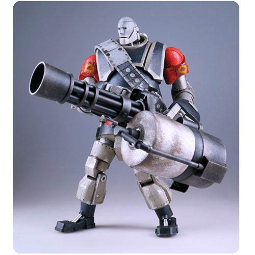 Team Fortress 2 RED Robot Heavy Action Figure, Not Mint