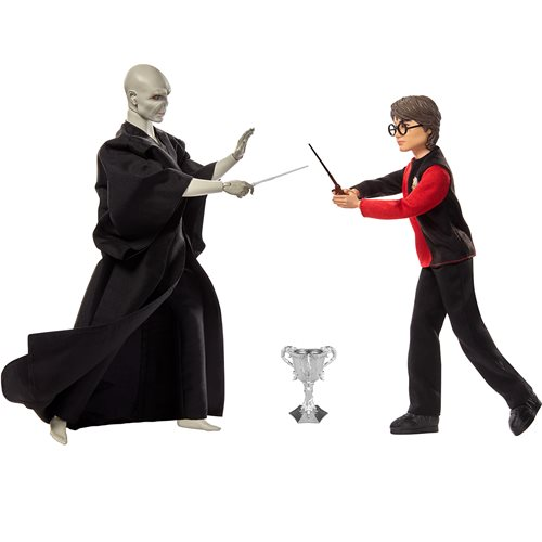 Harry Potter and the Goblet of Fire Harry Potter and Lord Voldemort Doll Set