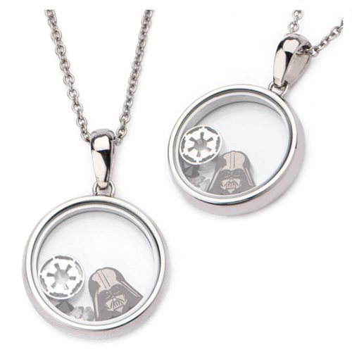 Star Wars Darth Vader Beads Pendant Stainless Steel Necklace