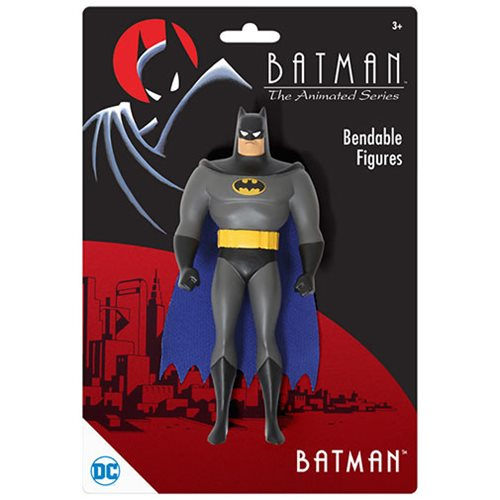 Batman Adventures Batman 5 1/2-Inch Bendable Action Figure