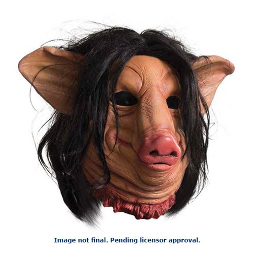 Saw Pig Face Deluxe Overhead Latex Mask