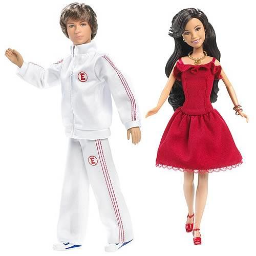 High School Musical 2 Gabriella And Troy Dolls