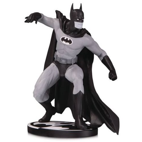 Batman Black and White Batman by Gene Colan Statue