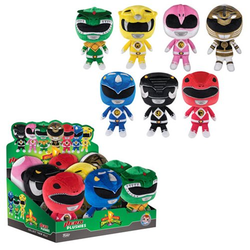 Mighty Morphin Power Rangers 8-Inch Plush Display Case