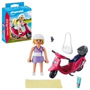 Playmobil 9084 Special Plus Beachgoer with Scooter