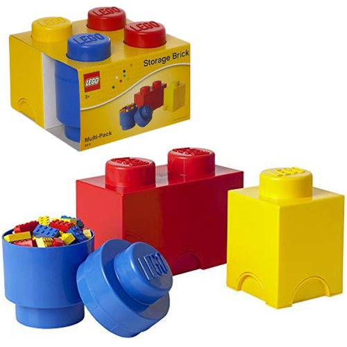 LEGO 3-Piece Storage Multipack