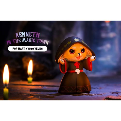 Kenneth in the Magic Town Series Random Blind Box Vinyl Figure 12-Piece Display Tray