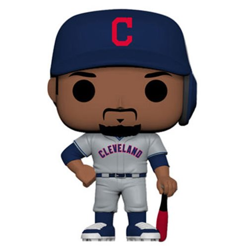 MLB Cleveland Indians Francisco Lindor New Jersey Pop! Vinyl Figure