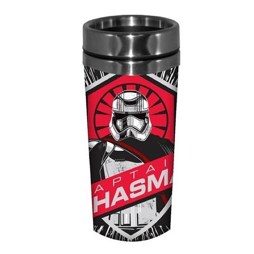 Star Wars: Episode VII - The Force Awakens Captain Phasma 16 oz. Stainless Steel Travel Mug