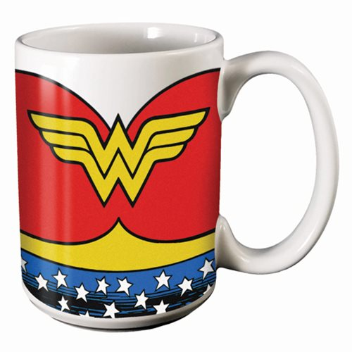 Wonder Woman Uniform 14 oz. Mug