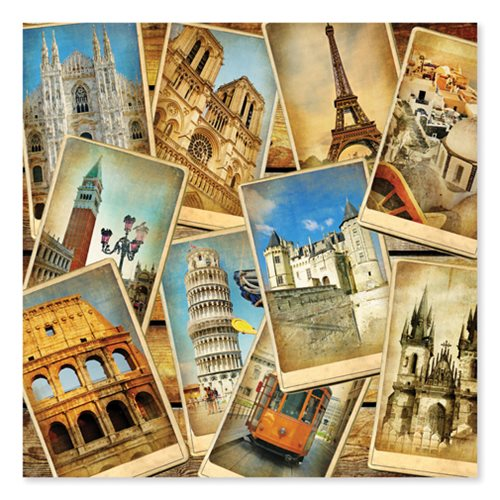 Postcards from Europe 1,000-Piece Jigsaw Puzzle