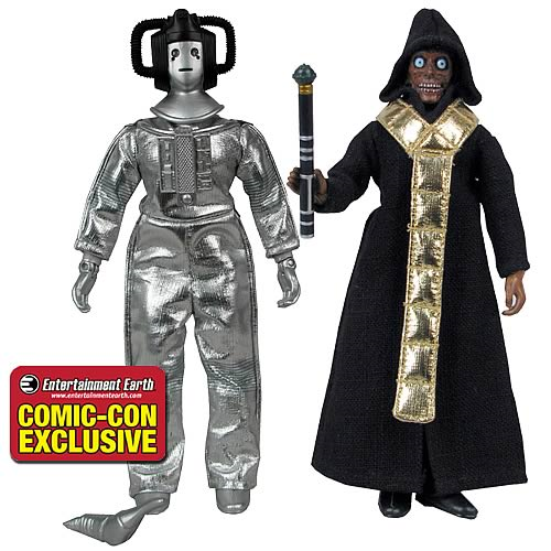 Doctor Who Cyberleader & The Master Exclusive Action Figures