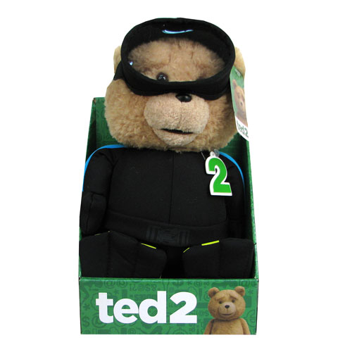 Ted 2 Ted SCUBA 11-Inch R-Rated Talking Plush