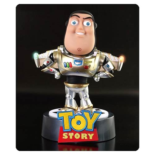 Toy Story Buzz Lightyear Infinity Edition Light-Up Egg Attack Statue