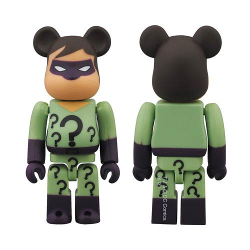 DC Super Powers Riddler Bearbrick - San Diego Comic-Con 2013 Exclusive