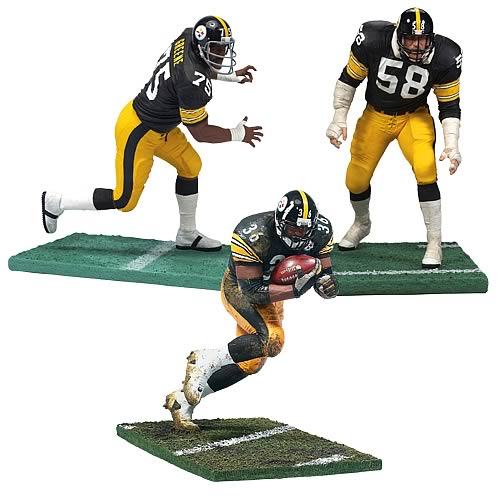 8770beb0e NFL Pittsburgh Steelers Legends 3-Pack Figures - Entertainment Earth