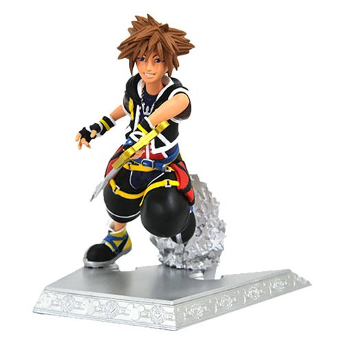 Kingdom Hearts II Gallery Sora Statue