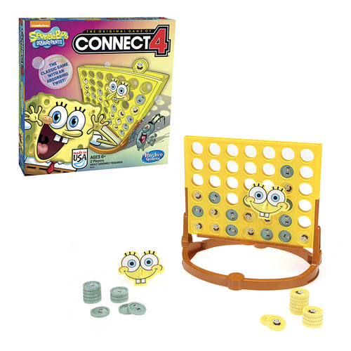 SpongeBob SquarePants Connect 4 Game