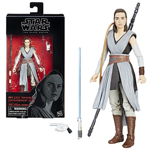 Star Wars The Black Series Rey (Jedi Training) 6-Inch Action Figure