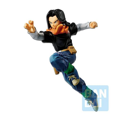 Dragon Ball FighterZ The Android Battle Android 17 Statue