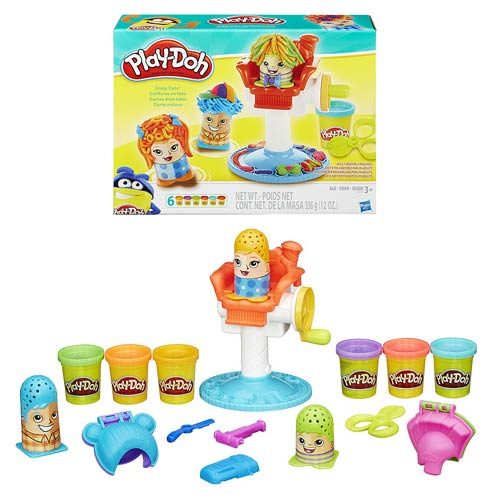 Play-Doh Crazy Cuts Barbershop Playset
