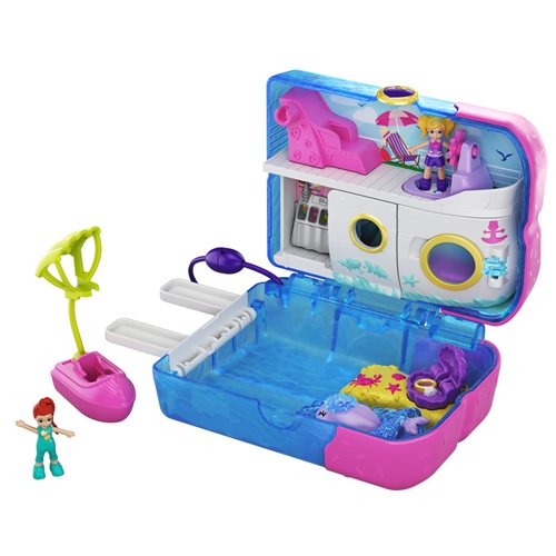 Polly Pocket Pocket World Sweet Sails Cruise Ship Compact