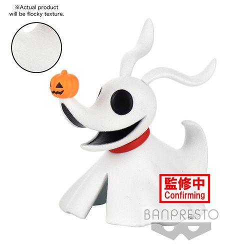 The Nightmare Before Christmas Zero Fluffy Puffy Statue