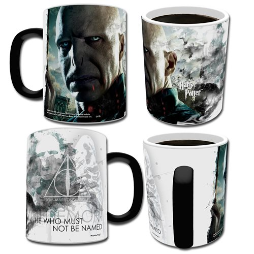Harry Potter Lord Voldemort Morphing Mug