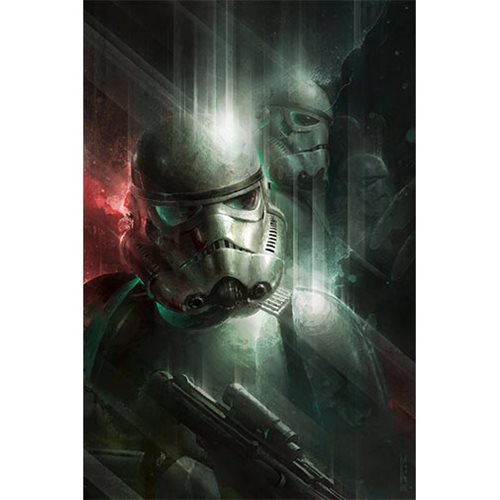 Star Wars Power in Numbers by Raymond Swanland Canvas Giclee Art Print