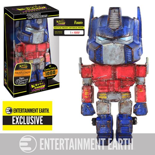 Transformers Battle Ready Optimus Prime Hikari Premium Japanese Vinyl - Entertainment Earth Exclusive