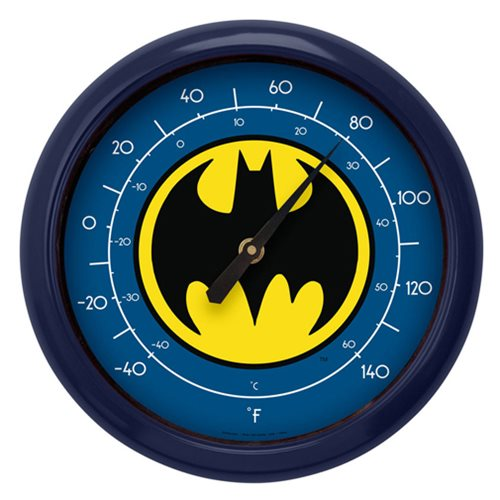 Batman Logo 10-Inch Thermometer
