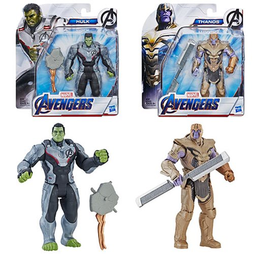 Avengers Endgame Deluxe 6-Inch Action Figures Wave 2 Case