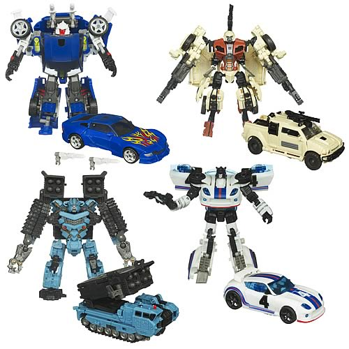 Transformers Hunt for the Decepticons Deluxe Wave 5