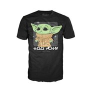 The Mandalorian The Child Black Pop! T-Shirt