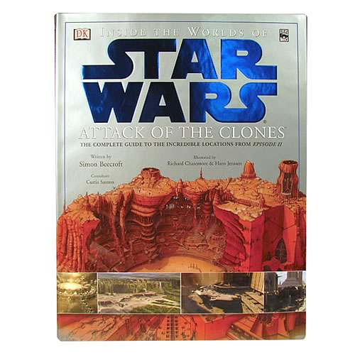 Star Wars Episode II Inside the Worlds of Star Wars Book
