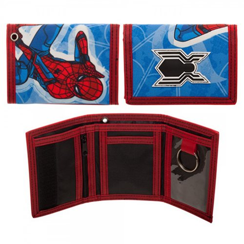 Spider-Man: Homecoming Trifold Velcro Wallet