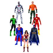 Justice League DC Rebirth Action Figure 7-Pack