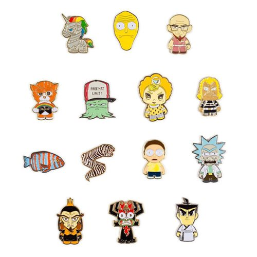 Adult Swim Enamel Pin Series Random 4-Pack