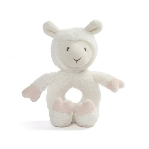 Baby Toothpick Llama Ring Rattle