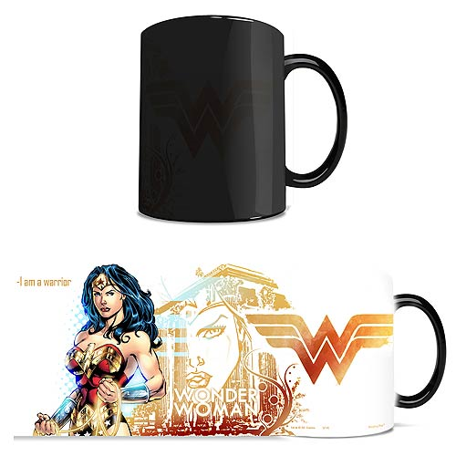 DC Comics Justice League Wonder Woman Morphing Mug