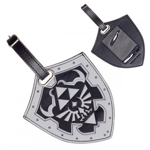 The Legend of Zelda Shield PU Luggage Tag