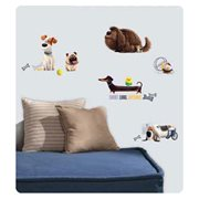 The Secret Life of Pets Boys Peel and Stick Wall Decals