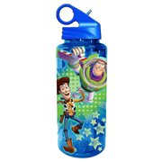 Toy Story Buzz and Woody Blue 20 oz. Tritan Water Bottle