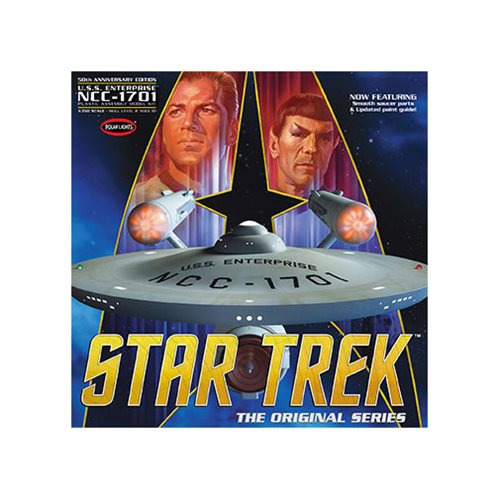 Star Trek Enterprise 50th Anniversary Edition 1:35 Model Kit