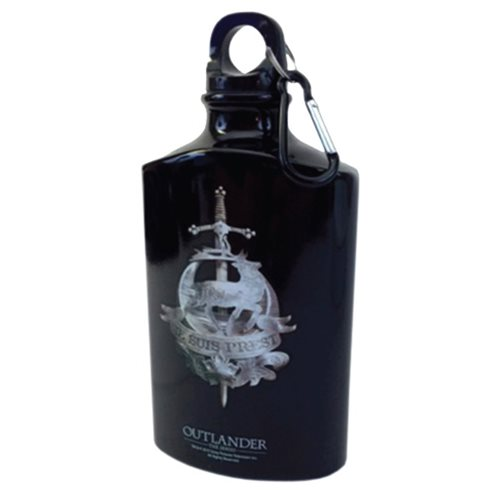 Outlander Fraser Clan Metal Water Bottle Flask