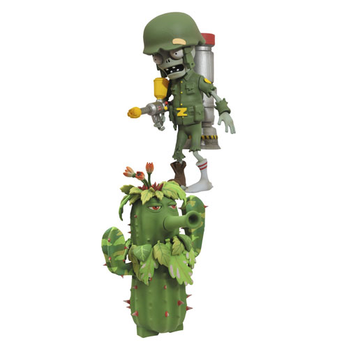 Plants Vs Zombies Garden Warfare Select Solr And Ghillie Cactus Action Figure