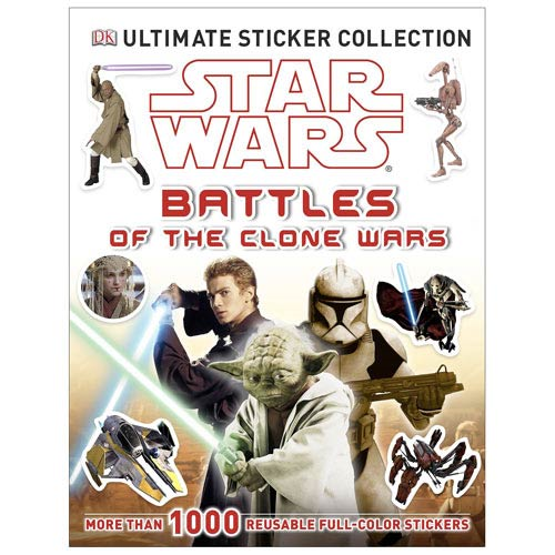 Star Wars Battles of the Clone Wars Ultimate Sticker Book